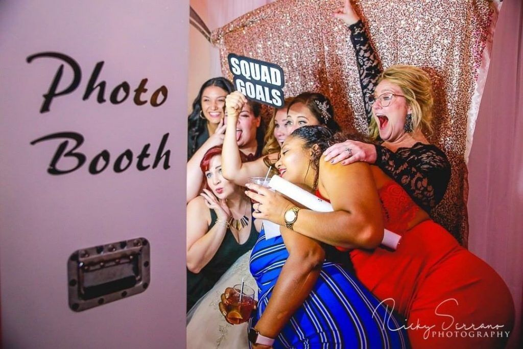 our photo booth rocks