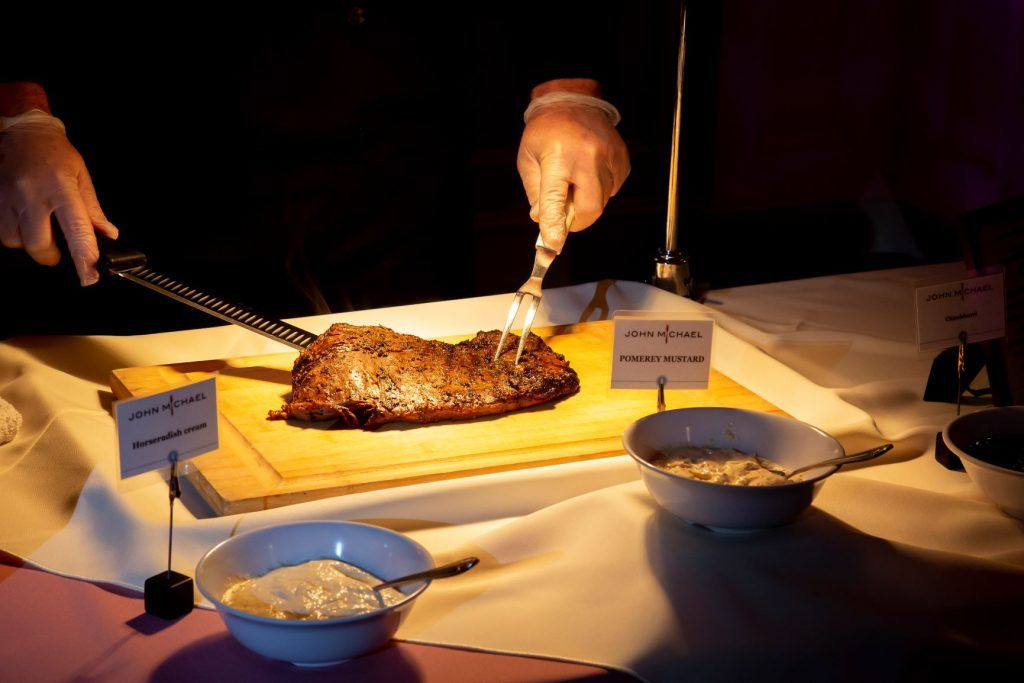 Flank Steak wedding catering