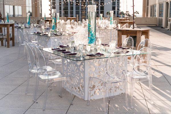 beautiful wedding at the balcony downtown orlando