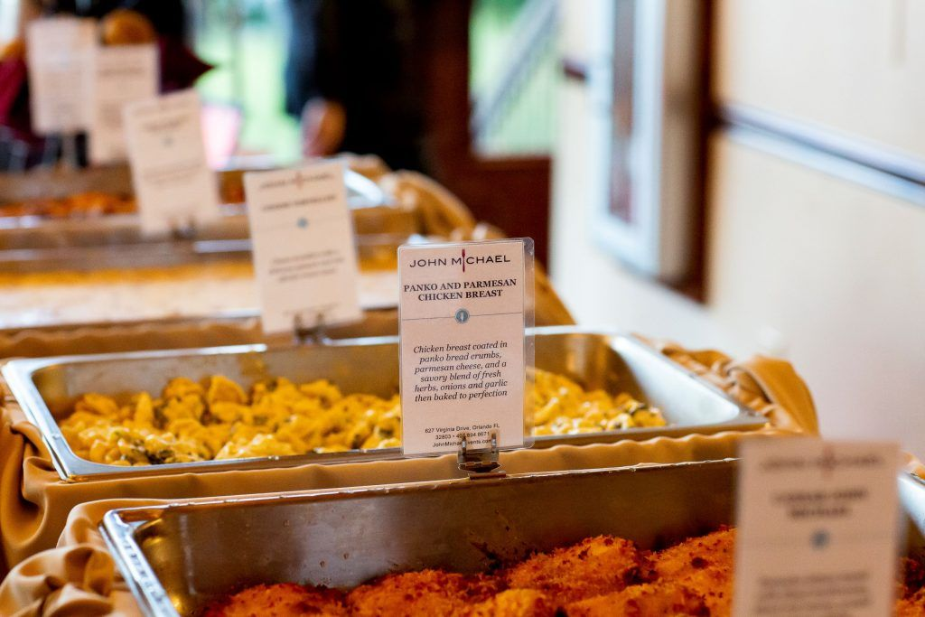 panko and parmesan chicken breast wedding catering