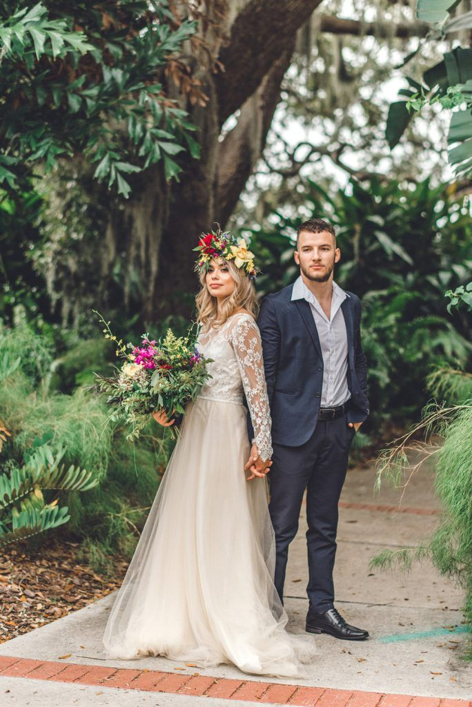 wedding hair and makeup for styled shoot
