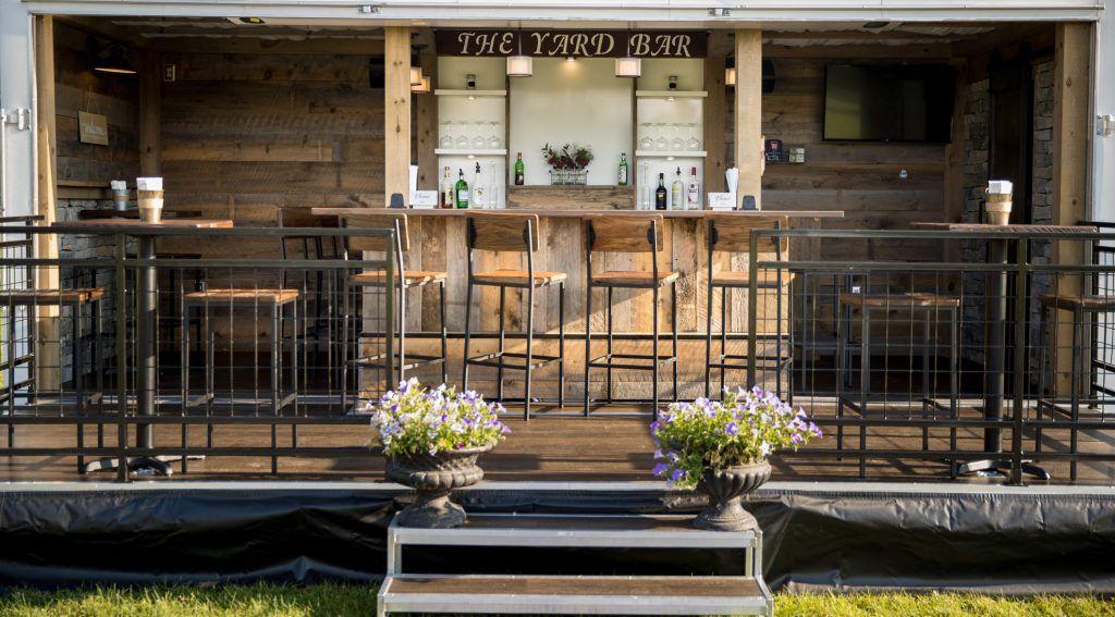 mobile yard bar experience