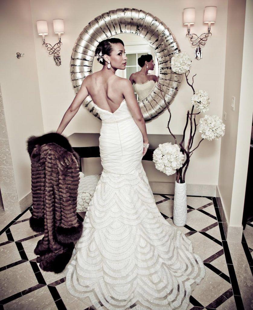 bride at the waldorf