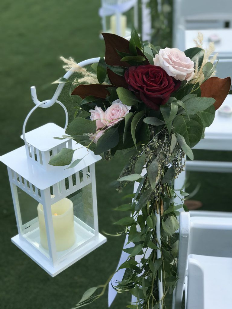 floral and lantern