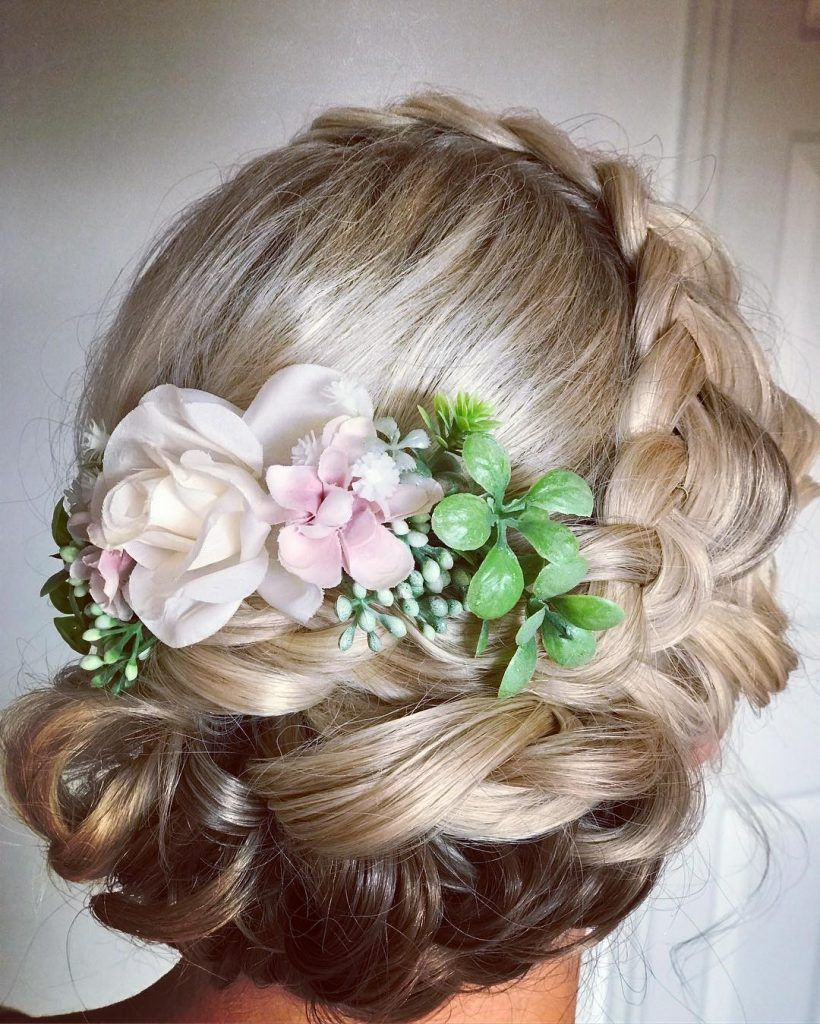 beauty is our business floral up do