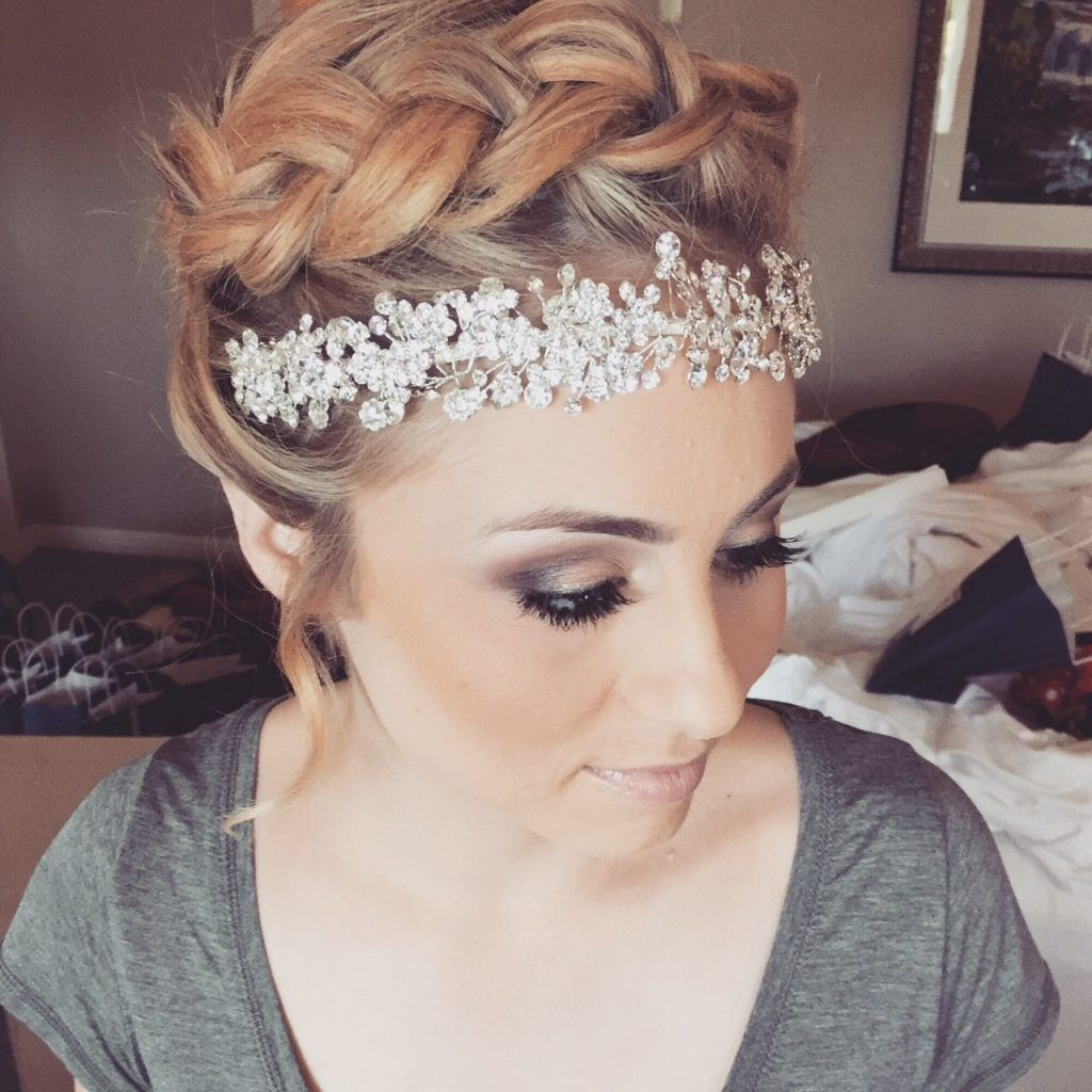 beauty is our business crown with up do