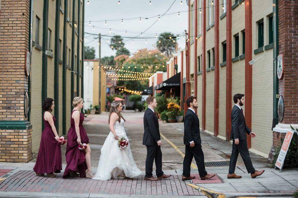 wedding party abbey road