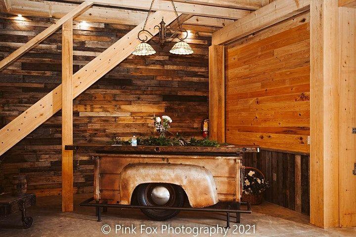bar inside barn
