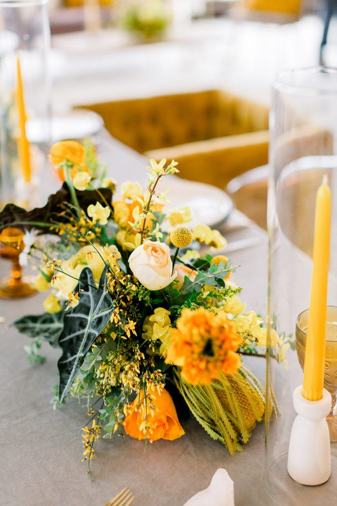 wedding colors ideas with in your table centerpieces