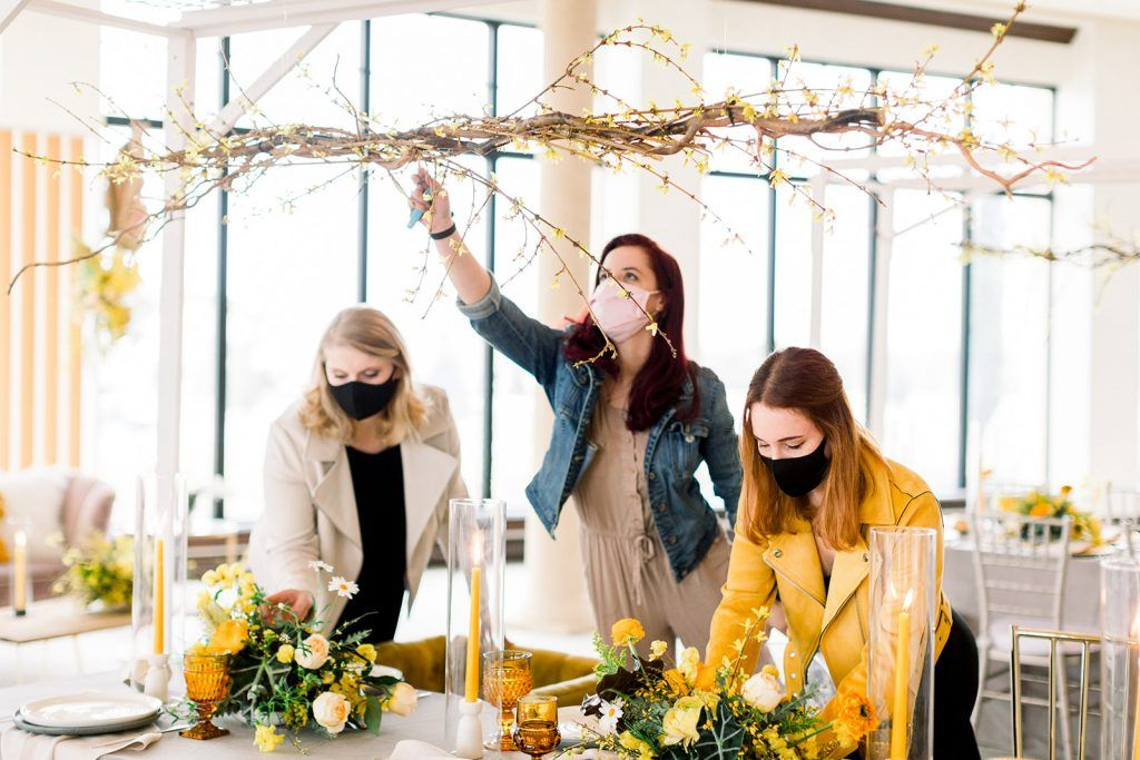 wedding planner designs with pantone colors of the year 2021