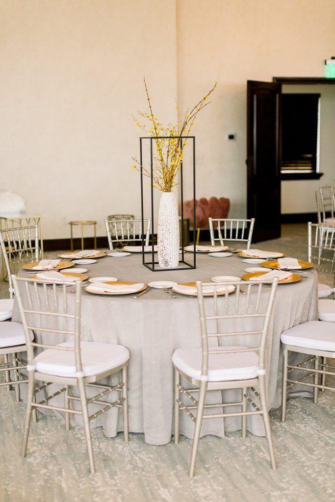 wedding reception Bella Collina greys