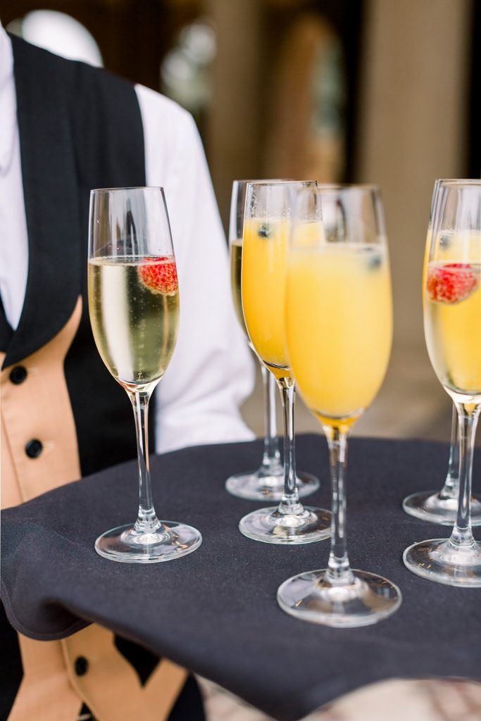 yellow mimosa for wedding colors ideas