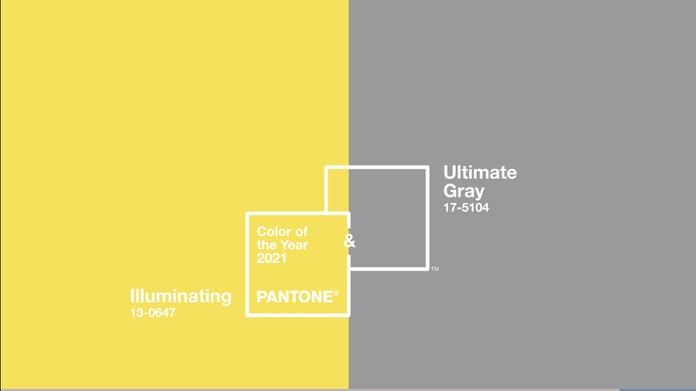 Pantone Colors of the Year 2021 swatch