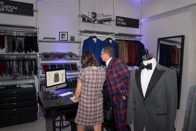 Designing a custom wedding tuxedo or suit