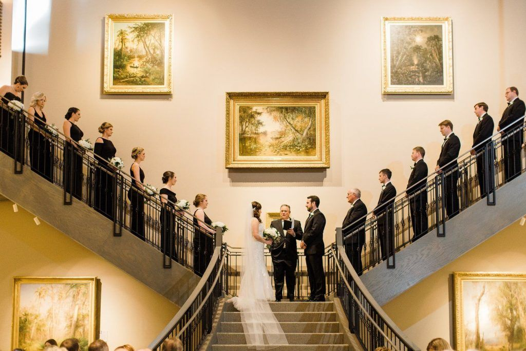 Wedding ceremony at Museum of Arts and Sciences