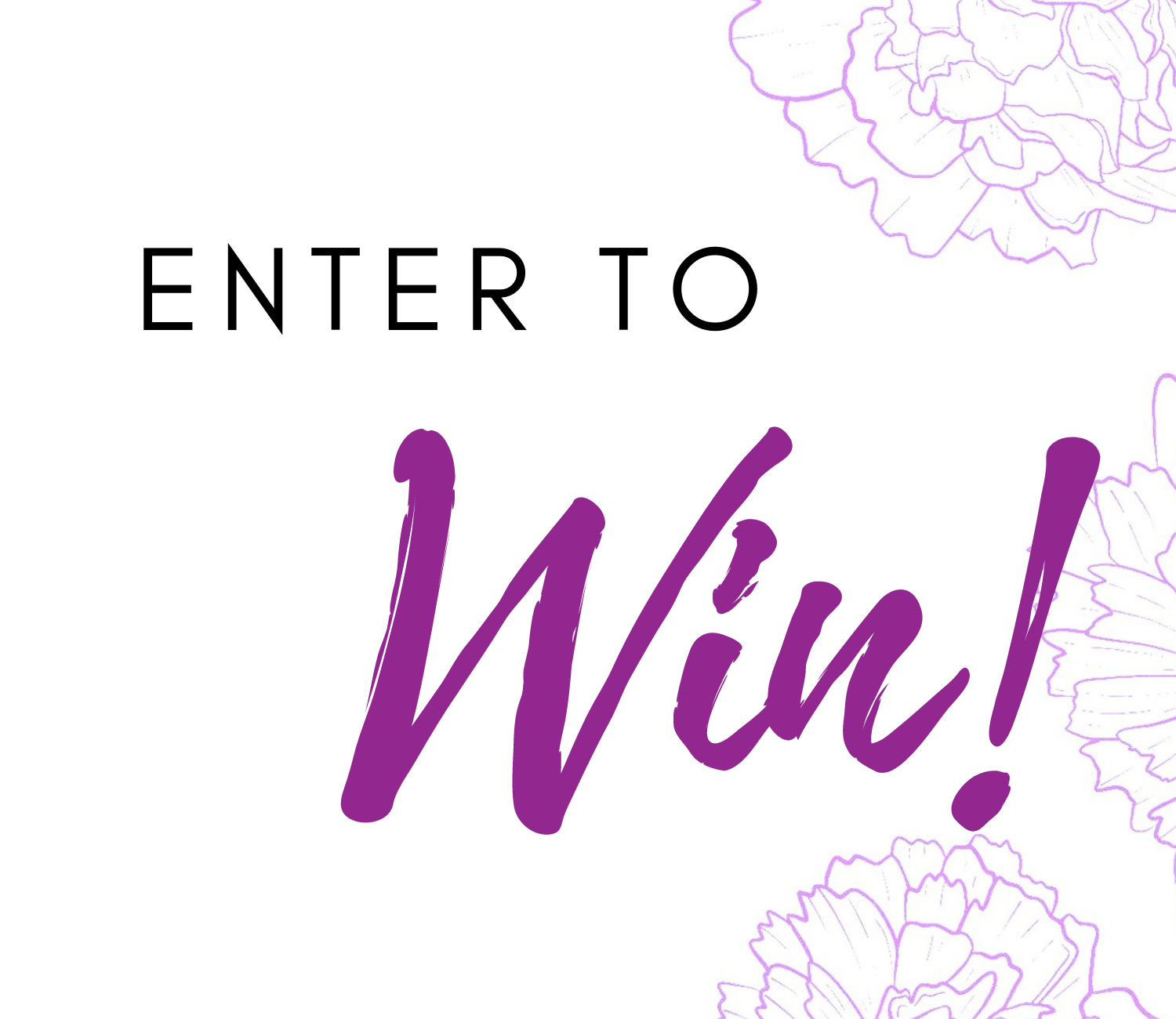 Enter to Win pop up on I Said Yes